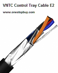 750FT 18 AWG 7 Conductor 18//7 Non-Shielded UL Type TC-ER 600V E2 Black VNTC Control Tray Cable