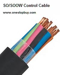 14/10-SOOW UL/CSA Cable - 600V - Black - Cut To Length - B11410